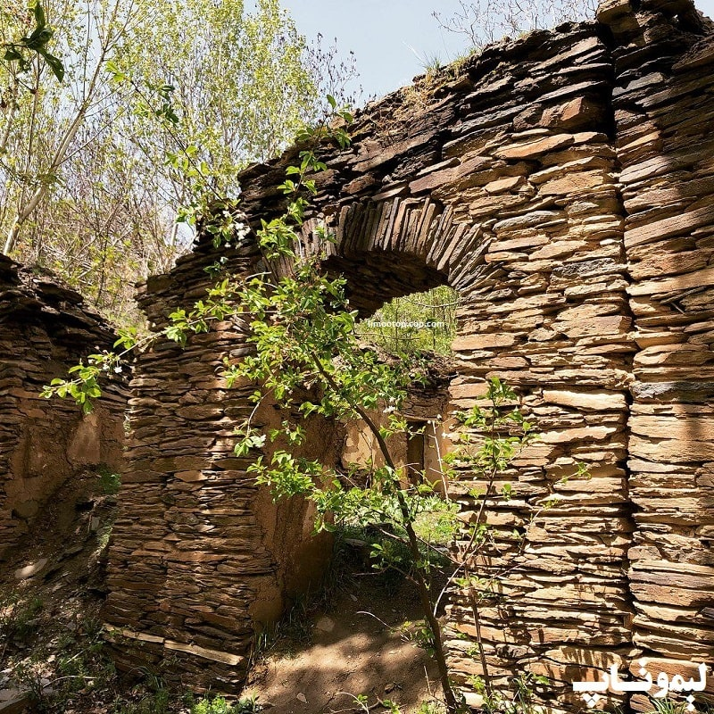 گورستان روستای ورکانه