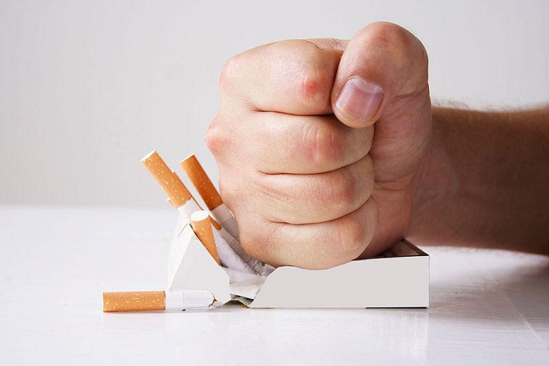 مراحل ترک سیگار