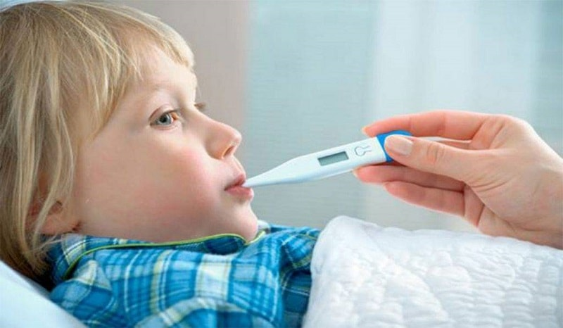 روش هایی برای اندازه گیری دمای کودک