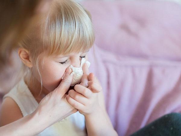 سرماخوردگی در نوزادان