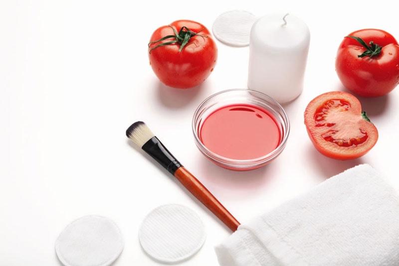 فواید ماسک گوجه فرنگی برای پوست