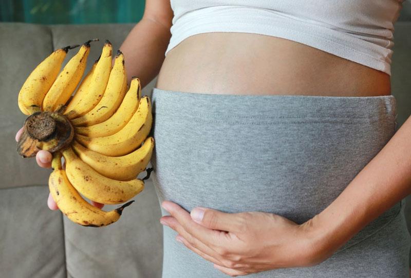 خواص موز برای زنان باردار و دوران بارداری