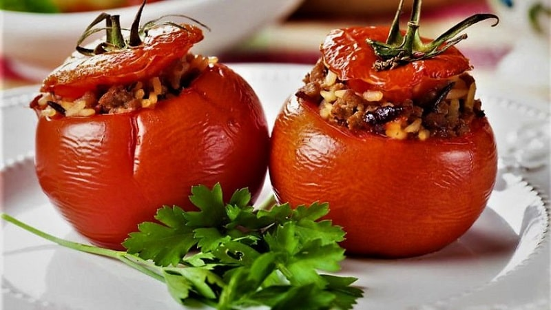 دلمه-گوجه-فرنگی