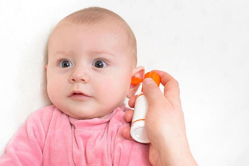 پیشگیری از گوش درد نوزاد