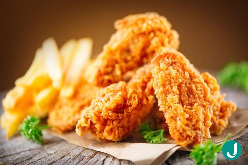 طرز تهیه کنتاکی مرغ در خانه