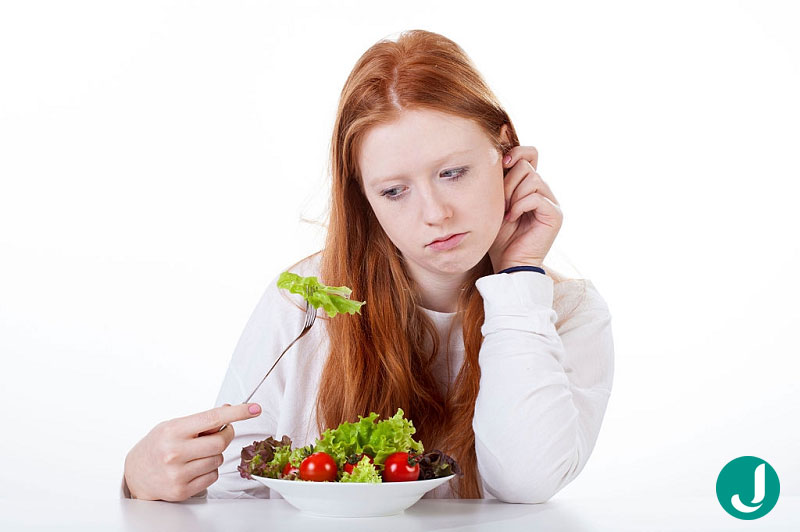 عدم احساس گرسنگی