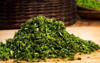سبزی-های-سبزی-کوفته