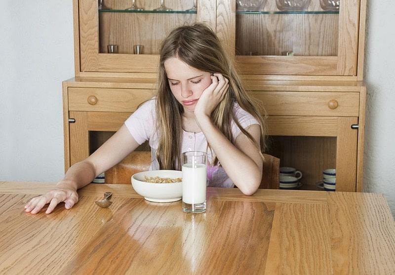 اختلالات خوردن مشکلات پریودی