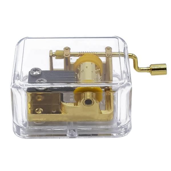جعبه موزیکال جی اچ مدل Golden Glass