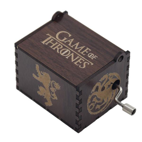 جعبه موزیکال طرح گیم اف ترونز مدل MB001