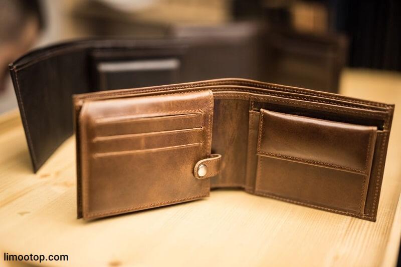 خرید کیف پول مردانه چرم