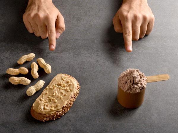خرید کره بادام زمینی برای بدنسازان