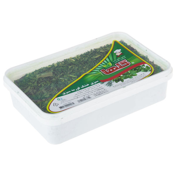 سبزی خشک قورمه سبزی گلها مقدار 100 گرم
