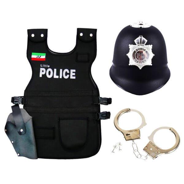 مجموعه نمایشی پلیس کوچولو مدل DSK-DKJ9 بسته 3 عددی