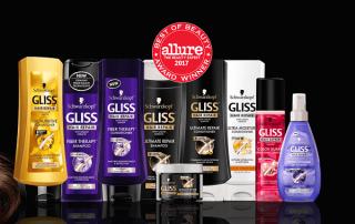 پرفروش ترین محصولات مراقبت از مو برند Gliss