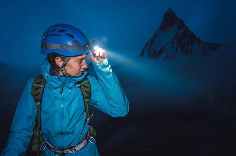 چراغ پیشانی کوهنوردی