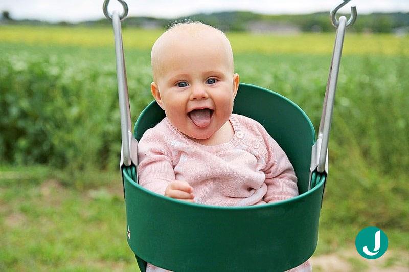 کودک در حال رشد شما در ماه پنجم بعد از تولد