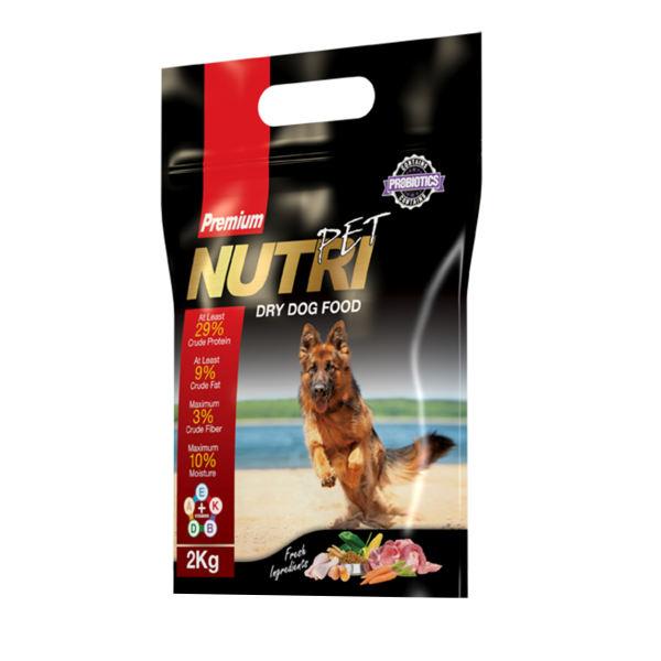 غذای خشک سگ پروبیوتیک نوتری پت مدل Premium 29 Percent مقدار 2 کیلوگرم
