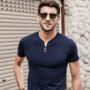 شیک ترین تیشرت آستین کوتاه مردانه 20% تخفیف