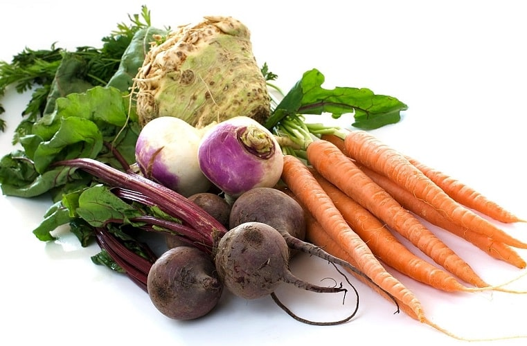 تقویت ریه با چغندر و سبزیجات ریشهای