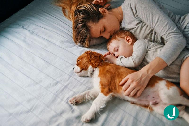 خواب نوزاد در ماه نهم