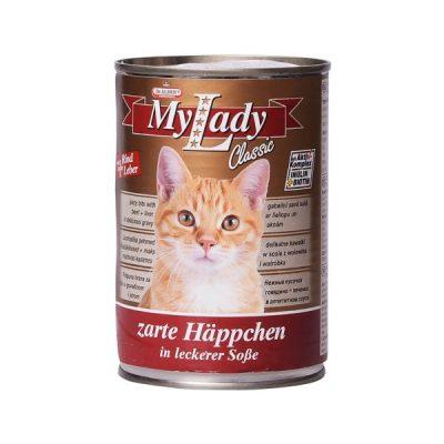 کنسرو غذای گربه دکتر آلدرز کد 025 وزن 415 گرم