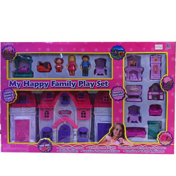 خانه عروسک مدل My Happy Family