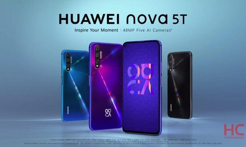 هواوی Nova 5t
