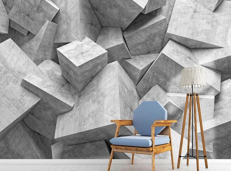 کاغذ دیواری سه بعدي چیست